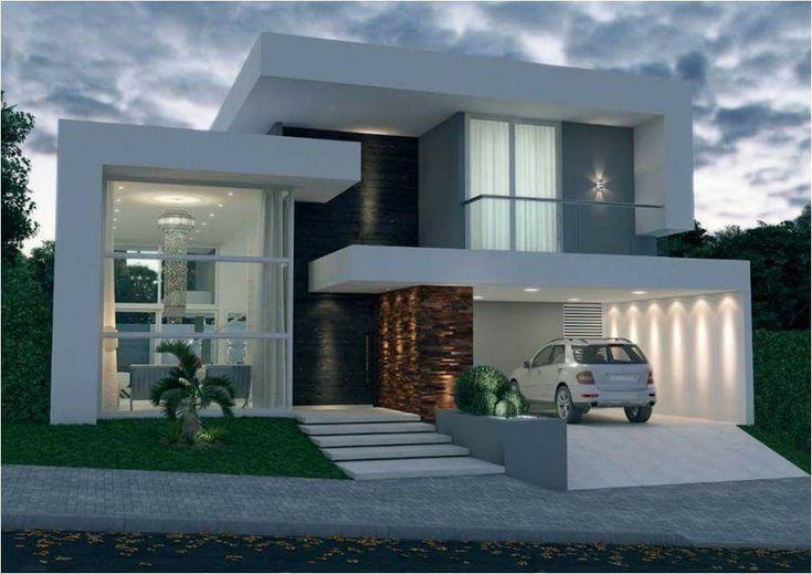 Casa moderna #fachadasdecasas