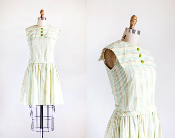 1960s Nautical Scooter Dress