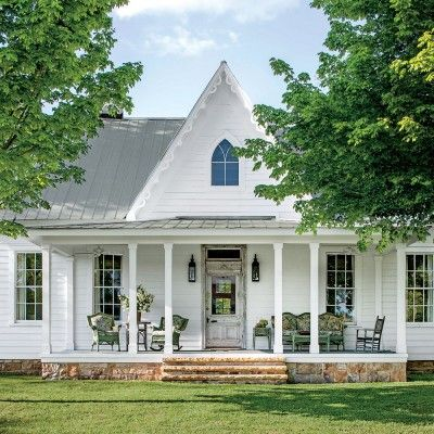 Check out this charming Carpenter-Gothic-style cottage and the smart ways its Monteagle, Tennessee owners outfitted it to live large.
