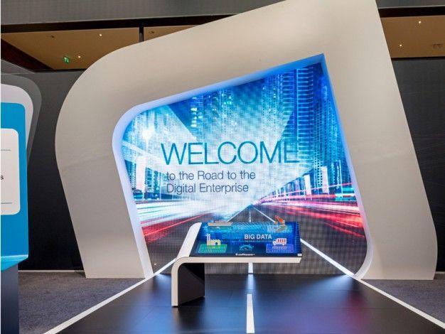 Software AG - CeBIT Hannover 2014   Schmidhuber   Exhibition Design