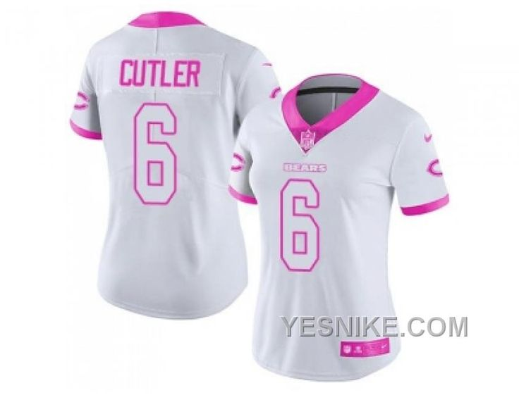 http://www.yesnike.com/big-discount-66-off-womens-nike-chicago-bears-6-jay-cutler-white-pink-stitched-nfl-limited-rush-fashion-jersey.html BIG DISCOUNT ! 66% OFF ! WOMEN'S NIKE CHICAGO BEARS #6 JAY CUTLER WHITE PINK STITCHED NFL LIMITED RUSH FASHION JERSEY Only $26.00 , Free Shipping!