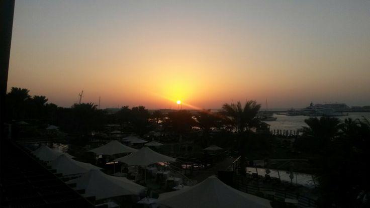 Sunset at #Westin Hotel #Dubai