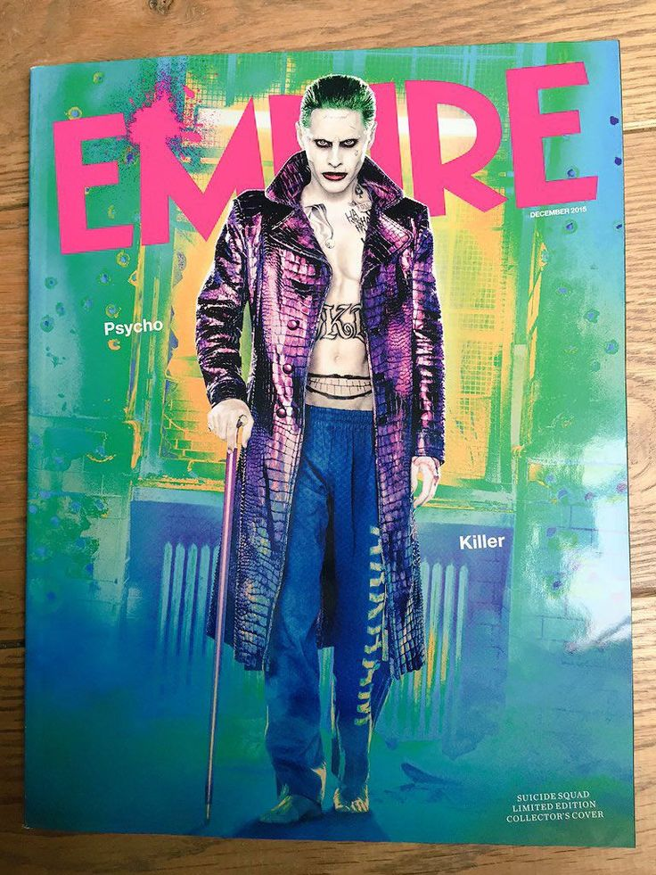 Our best look yet at Jared Leto's Joker in Suicide Squad