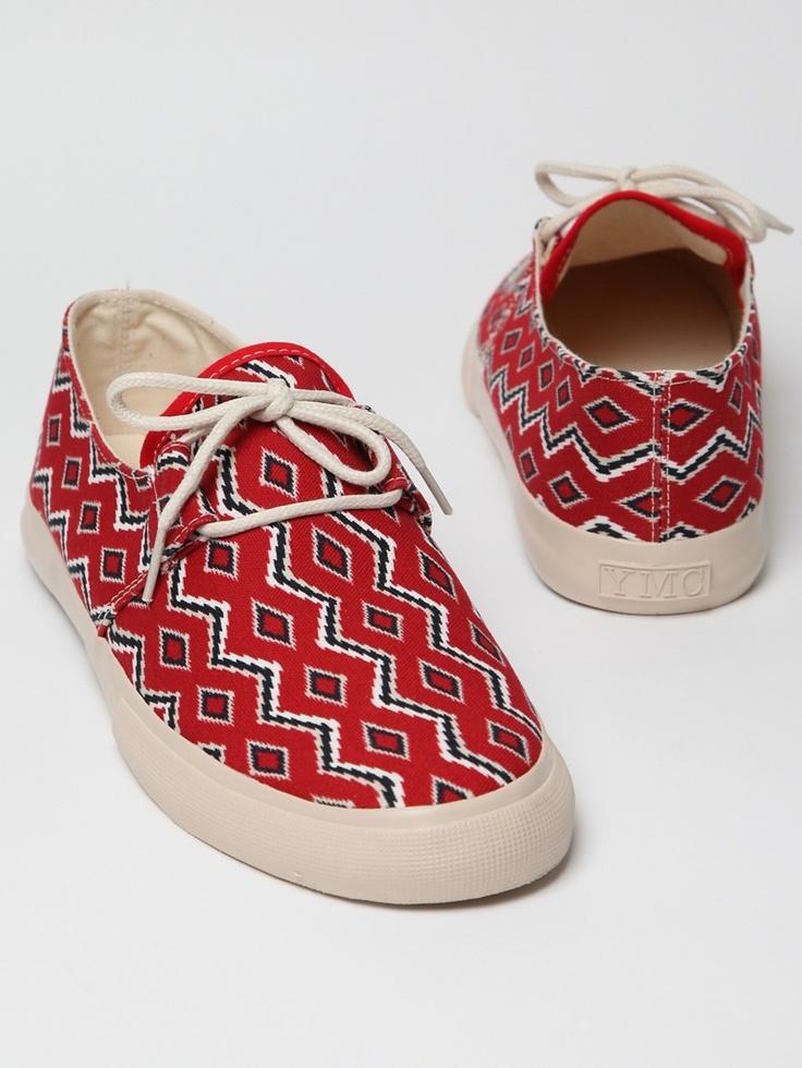 YMC Men's Navajo lace up deck shoes   Dope kicks   Pinterest