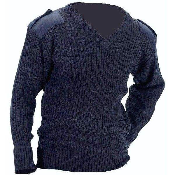 NAVAL JUMPER MENS MILITARY SWEATSHIRT blue heavy duty knit pullover... ❤ liked on Polyvore featuring men's fashion, men's clothing, men's sweaters, mens cable knit cardigan sweater, mens cardigan sweaters, mens knit sweater, mens military style sweaters and old navy mens sweaters
