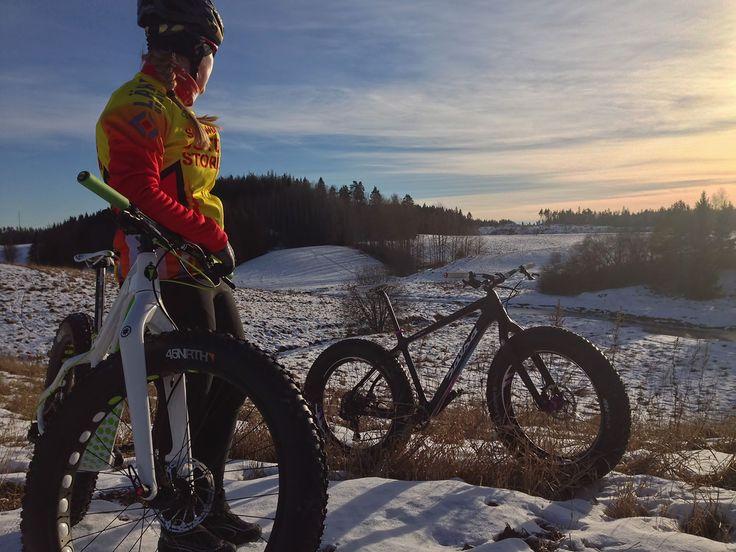 Fat-Bike Finland – paksupyörä / lumipyörä » Helmikuun hankikannolla fatbikella!