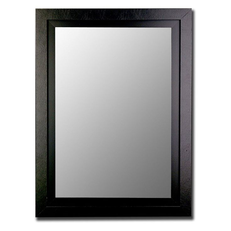 Black on Black Wall Mirror - 25800