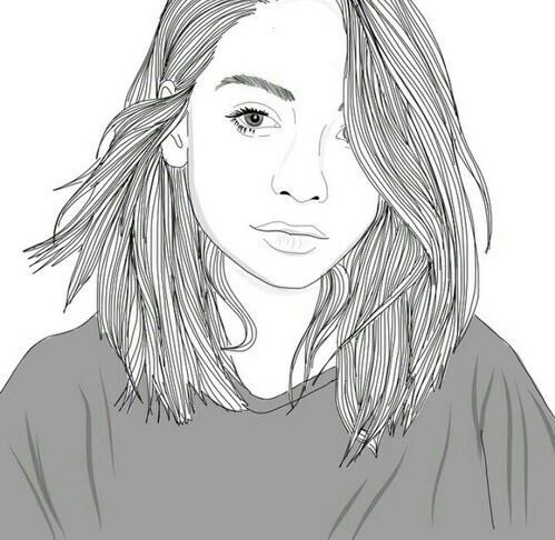 Short Hair U0394Google Search  Tumblr Outlines | Drawing | Pinterest | Shorts Short Hairstyles And ...