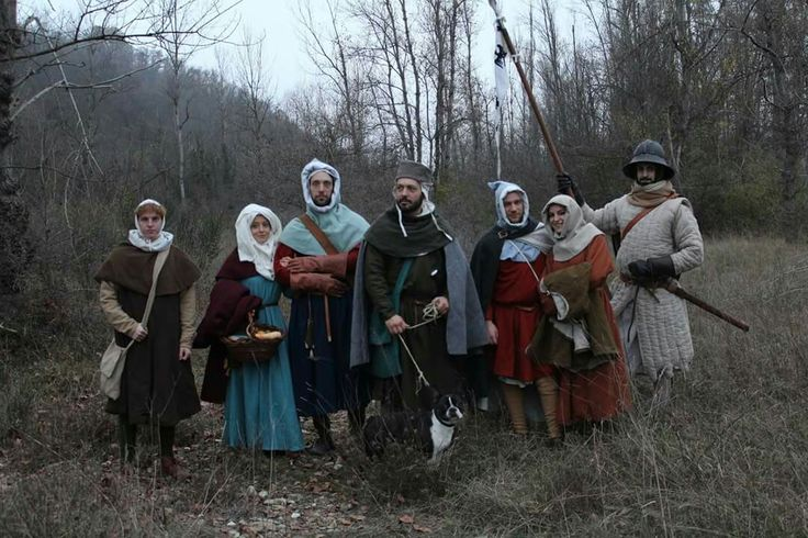 me with friends 13th century (XIII century)