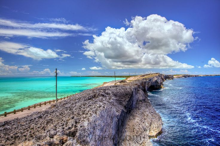 We've said it before, though it never gets old: amazing things happen where two bodies of water come together, like at the Glass Window Bridge in Eleuthera.