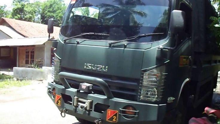 Truck Isuzu NPS Armed Purwakarta Di Ambal Kebumen