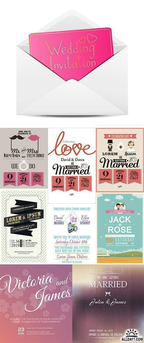 Wedding invitation  -  Пригласительные на свадьбу