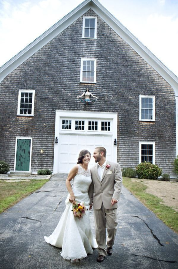 Rhode Island American Pie Wedding Inspiration at Mount Hope Farm | Style Me Pretty