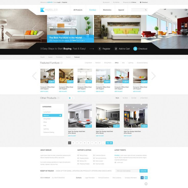 The design is minimal, professional and clean, giving the visitors, and potencial clients a feeling of cleanliness and modern design. #clean #webdesign