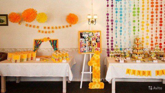 Декор детского праздника | 28 фотографий
