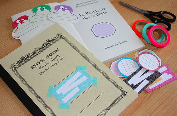 À télécharger : des étiquettes pour livres et cahiers http://www.modesettravaux.fr/etiquettes-livres-cahiers-telechargement/