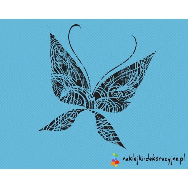 Szablon do malowania wzór Motylka lub naklejka dekoracyjna. *Zobacz to bo warto* Taniej nie znajdziesz nigdzie podobnych naklejek
