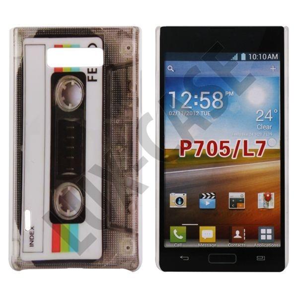 StoryLine (Retro Tape) LG Optimus L7 Cover