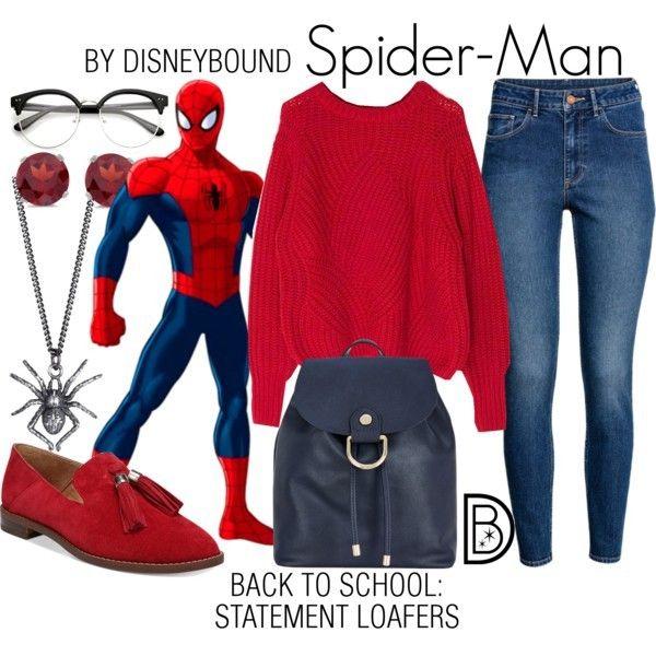 Disney Bound - Spider-Man