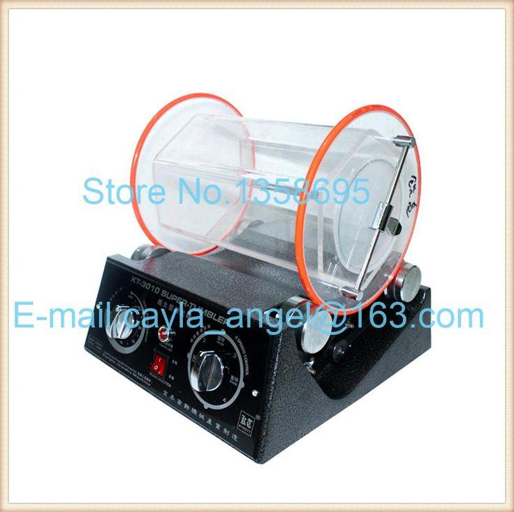 Hot Sale KT-3010 Large Vibratory Tumbler Barrel Rotary Tumbler,Jewelry Burnishing Tumbler for Gold Polishing