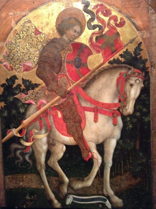 Sveti Crisogono na konju