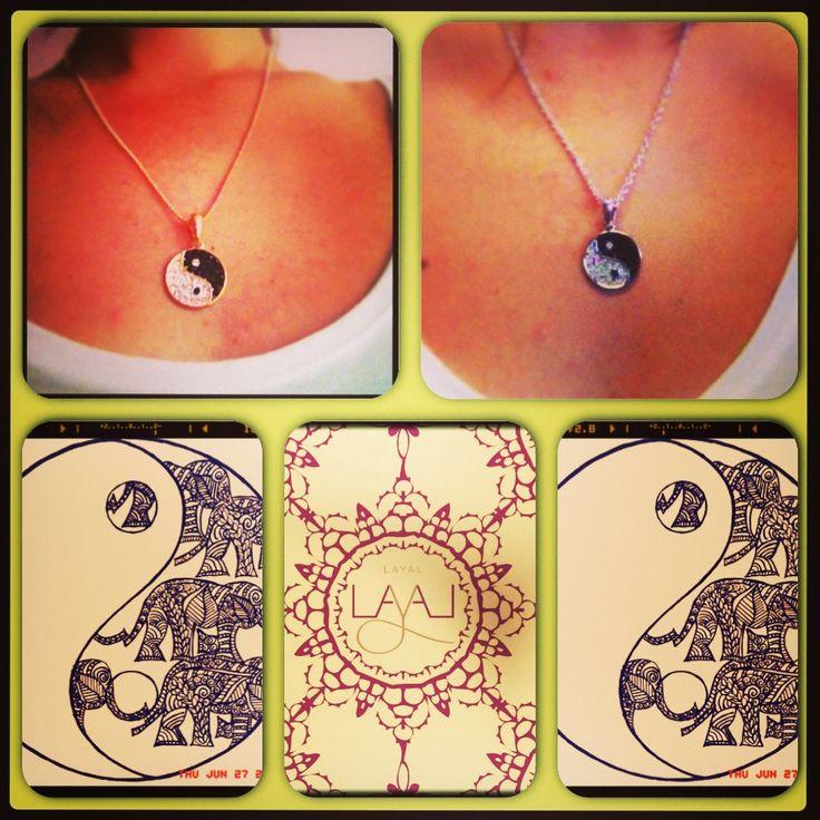 Layal glyfada yin yang necklaces