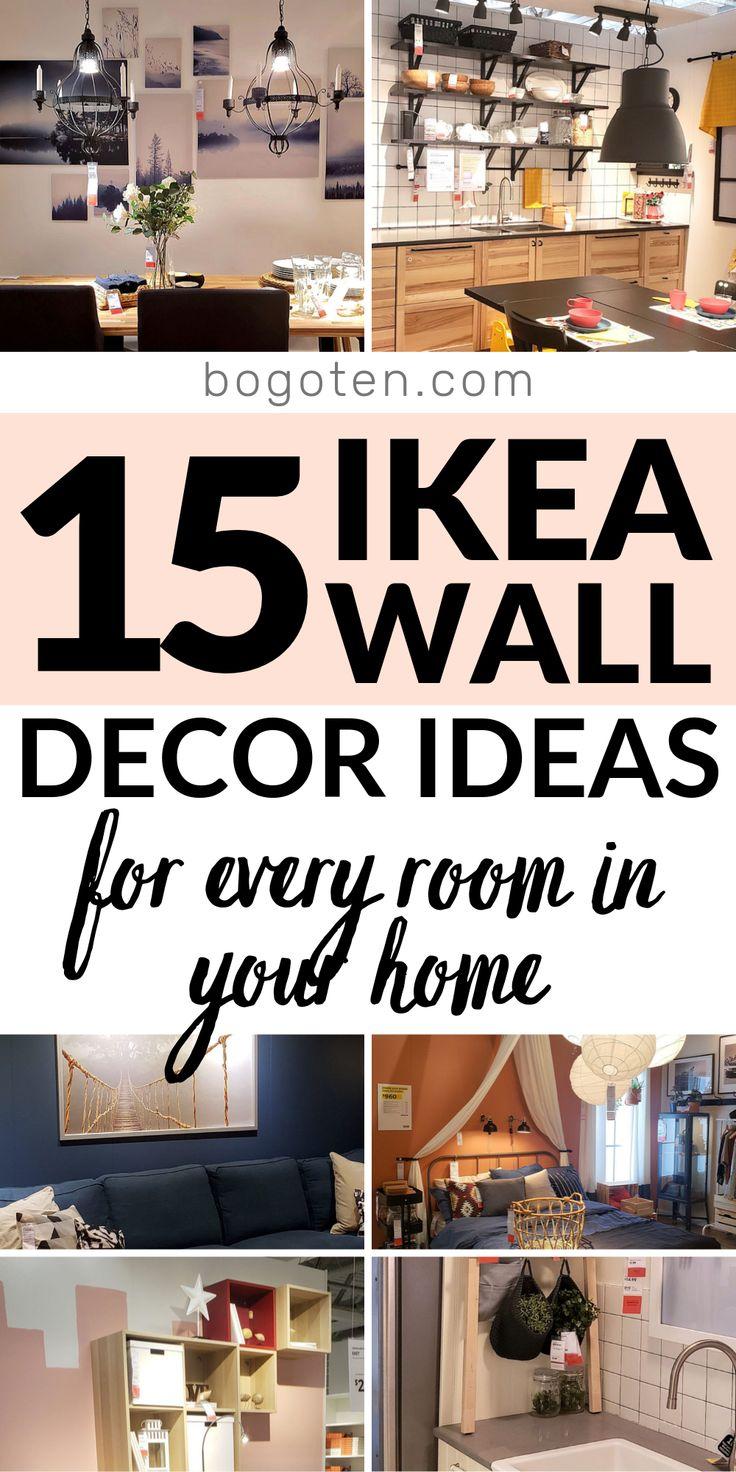 Deck the Walls with Ikea Wall Decor Ideas & Hacks  Ikea wall