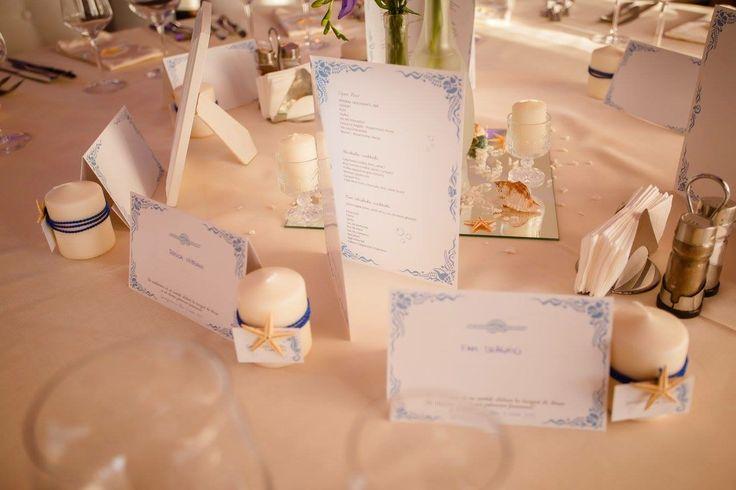 Marine Wedding themed/ nunta cu tema Marina