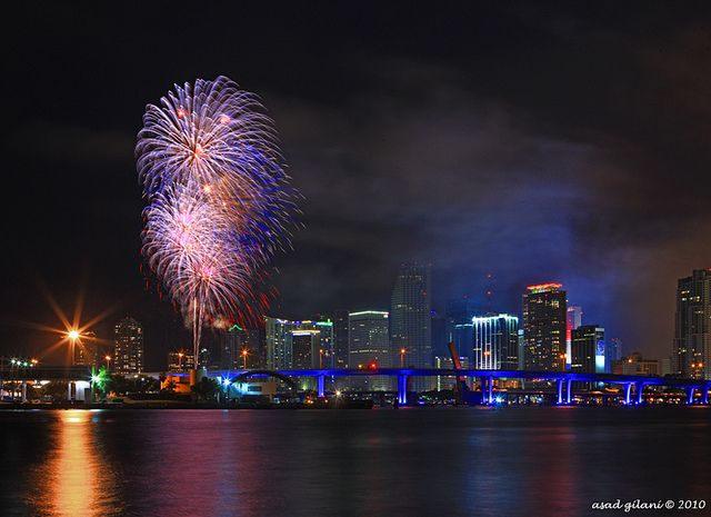 4th of july in miami
