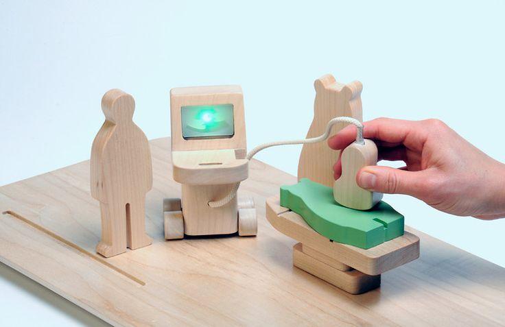 5 | Elegant Toys That Explain Scary Medical Procedures To Kids | Co.Design: business + innovation + design: Design Magazine, Wooden Toys, Kids, Hospitals Toys, Novels Hospitals, Hikaru Imamura, Co Design, Innovation Design, Scary Medical