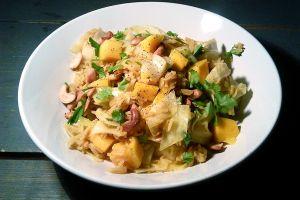 Pilav van basmati rijst met cashewnoten en mango # Recept # ingekookt.wordpress.com