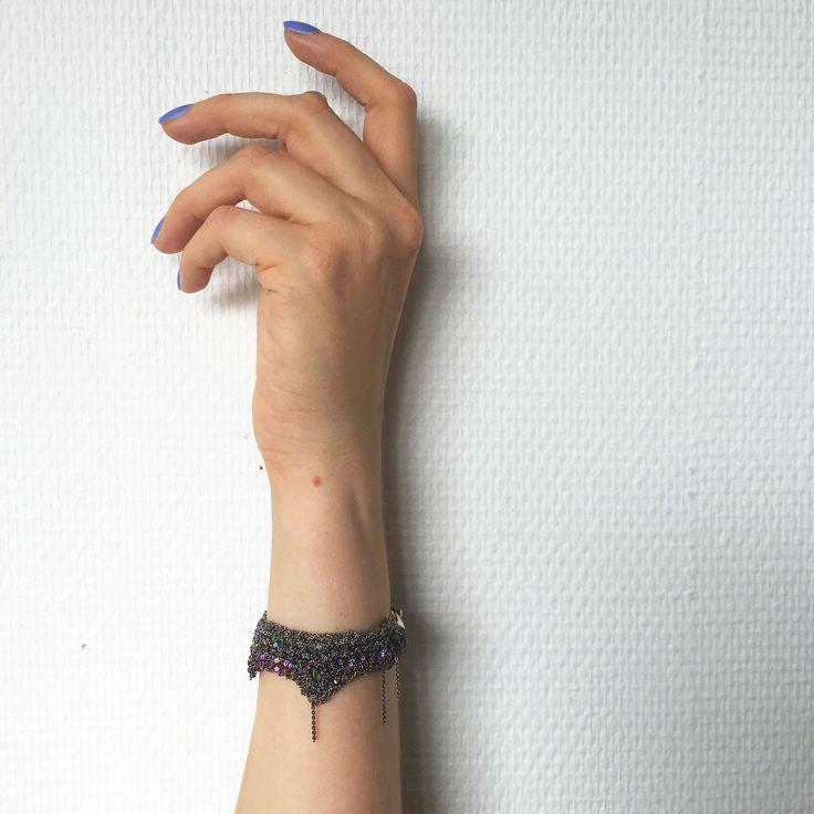 ZIG ZAG SPECTRUM bracelet by ARIELLE DE PINTO