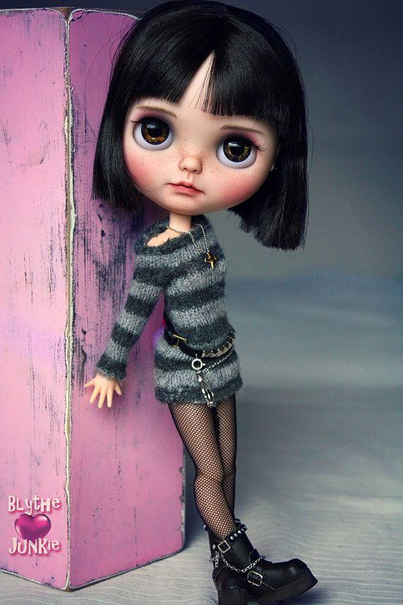 Caro. Blythe benutzerdefinierte Kunst Ooak Puppe von blythejunkie