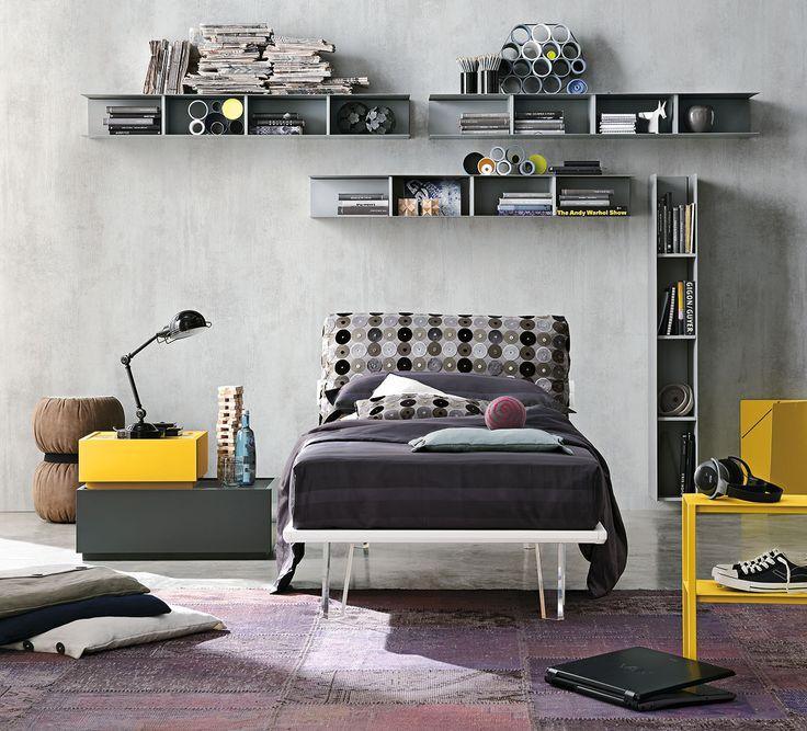#letto per camerette modello Piuma| gruppotomasella.it