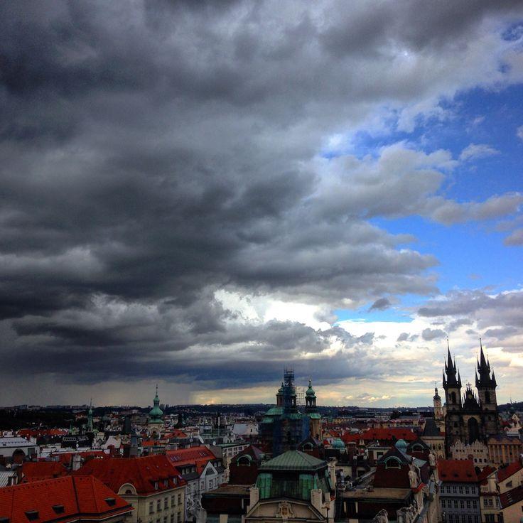 Prague from Klementinum