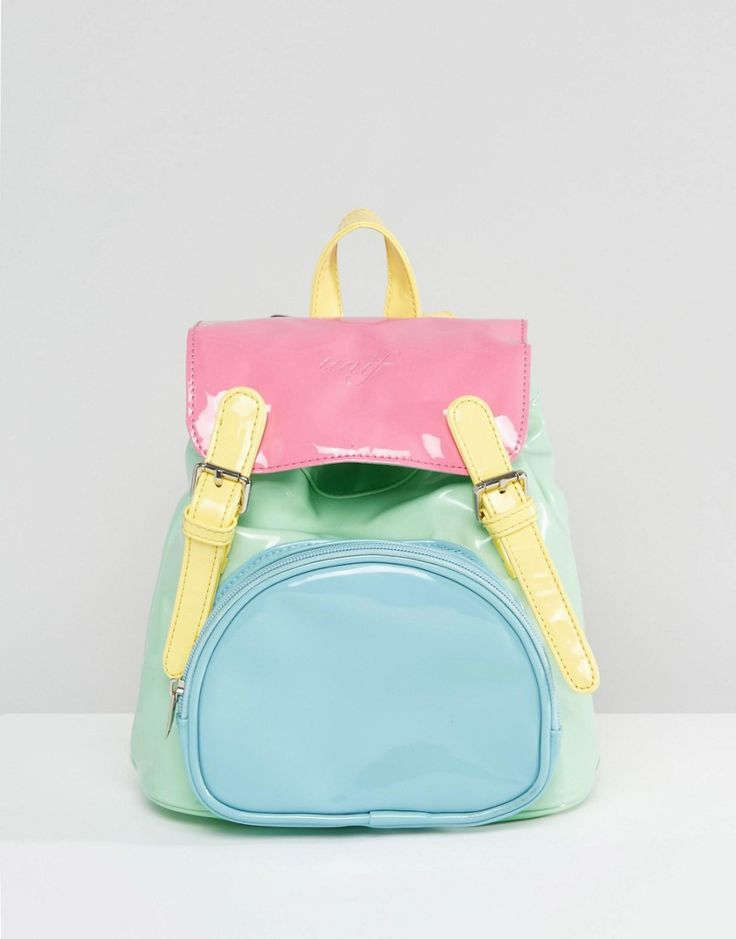 UNIF Bop Multicoloured Pastel Backpack