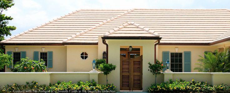 Flat Concrete Roof Tile Exterior Colour Pinterest