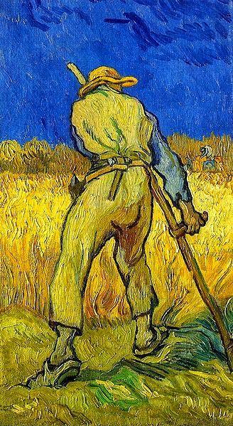 Θεριστής - 1889 (από έργο του Ζαν Φρανσουά Μιλέ)