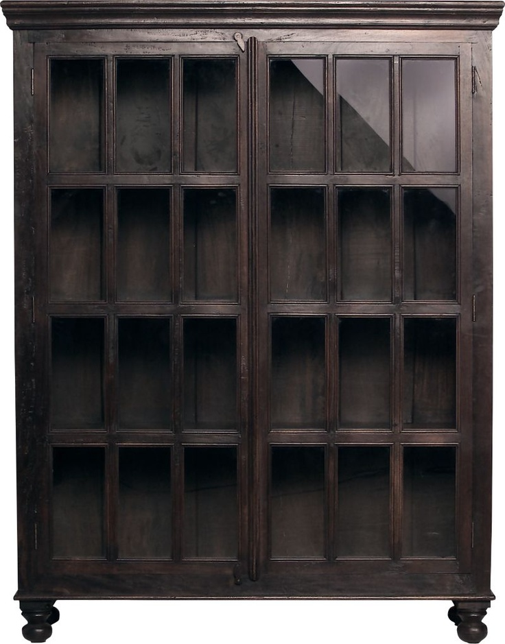Faulkner Library Cabinet in Storage Cabinets | Crate and Barrel