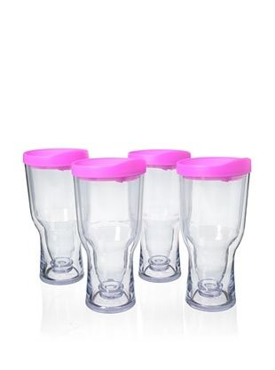83% OFF AdNArt Set of 4 Brew to Go, Pink