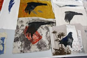 For the past few months I have been dabbling with Gum Arabic transfer onto fabric together with the odd collagraph print and have been...