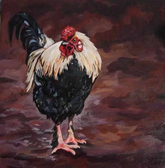 Portrait personnalisé de l'Animal, Peinture Portrait animalier personnalisé, sur mesure pour animaux de compagnie Art, une peinture personnalisée pour animaux de compagnie sur toile, acrylique 12 x 12