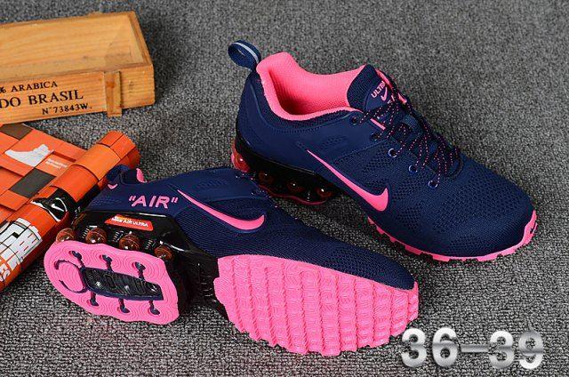nike shox r4 azul e rosa