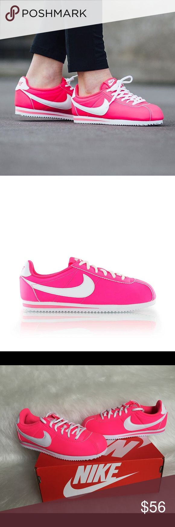 low priced c65ef d15a9 ... Sneakers in Retro Leather NWT Hyper Pink Nike Cortez ♏️ERCARI PRICE    45 SEARCH FOR USERNAME  Candy ...