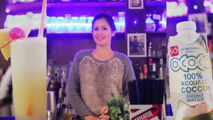 OCOCO recipe, Pina Colada: Making Of
