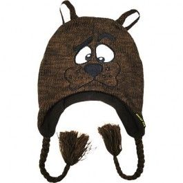 Scooby Doo Knitted Beanie/Laplander $24.99