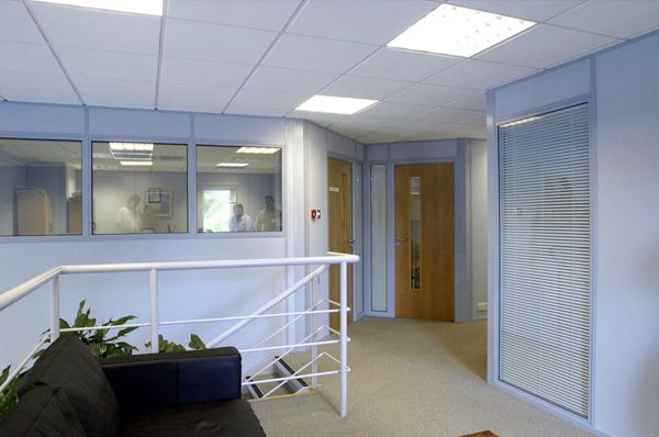 Relocatable partitioning infills