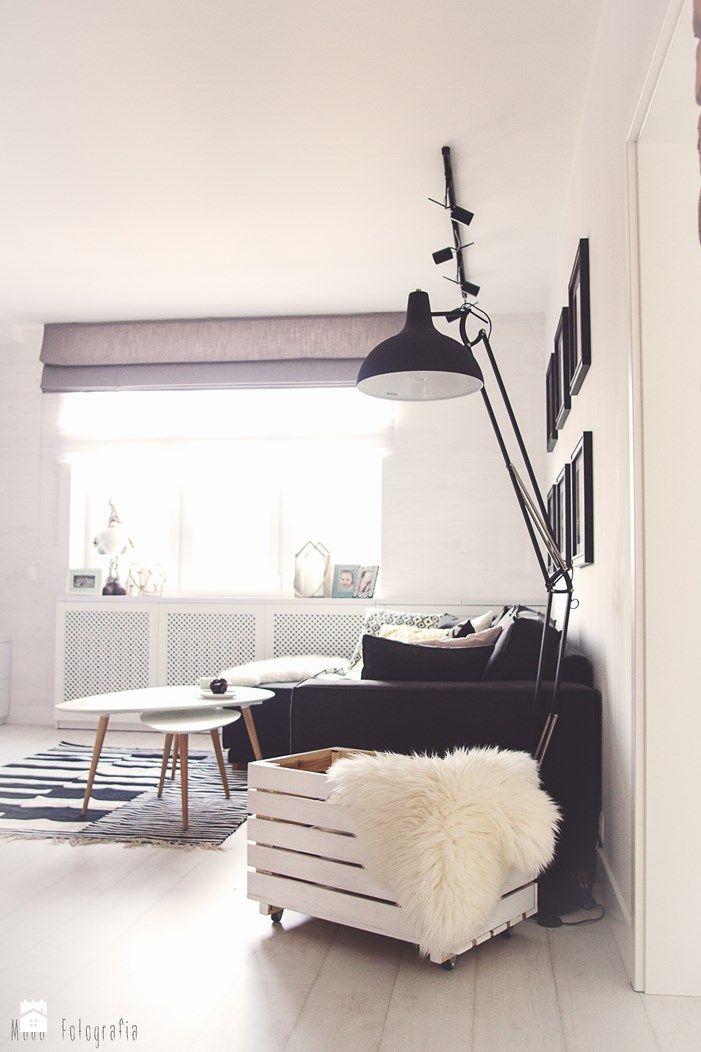 Salon styl Skandynawski - zdjęcie od Meblościanka Studio - Salon - Styl Skandynawski - Meblościanka Studio
