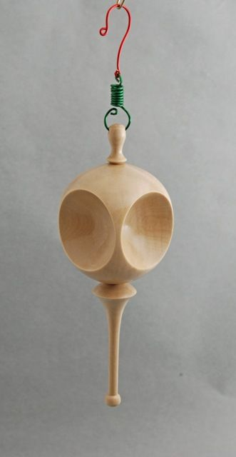 Best christmas ornaments turned wood images on pinterest