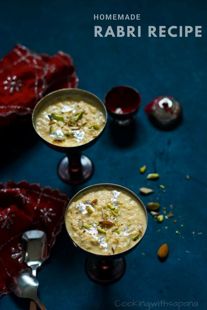 Rabri Recipe-Rabdi Recipe-How to make Rabri at Home